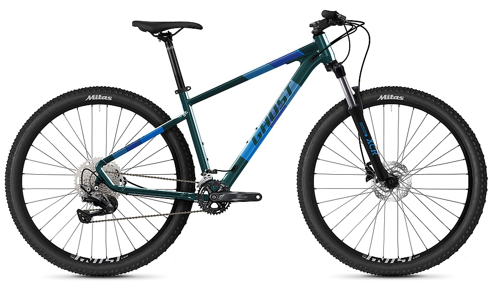 "kolo Ghost Kato Advanced 29"" - Dark Green/Petrol Blue S (155-170cm)"