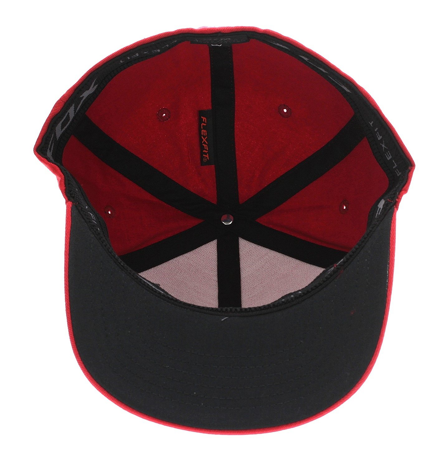 cap Fox Emblem Flexfit - Chilli - men´s