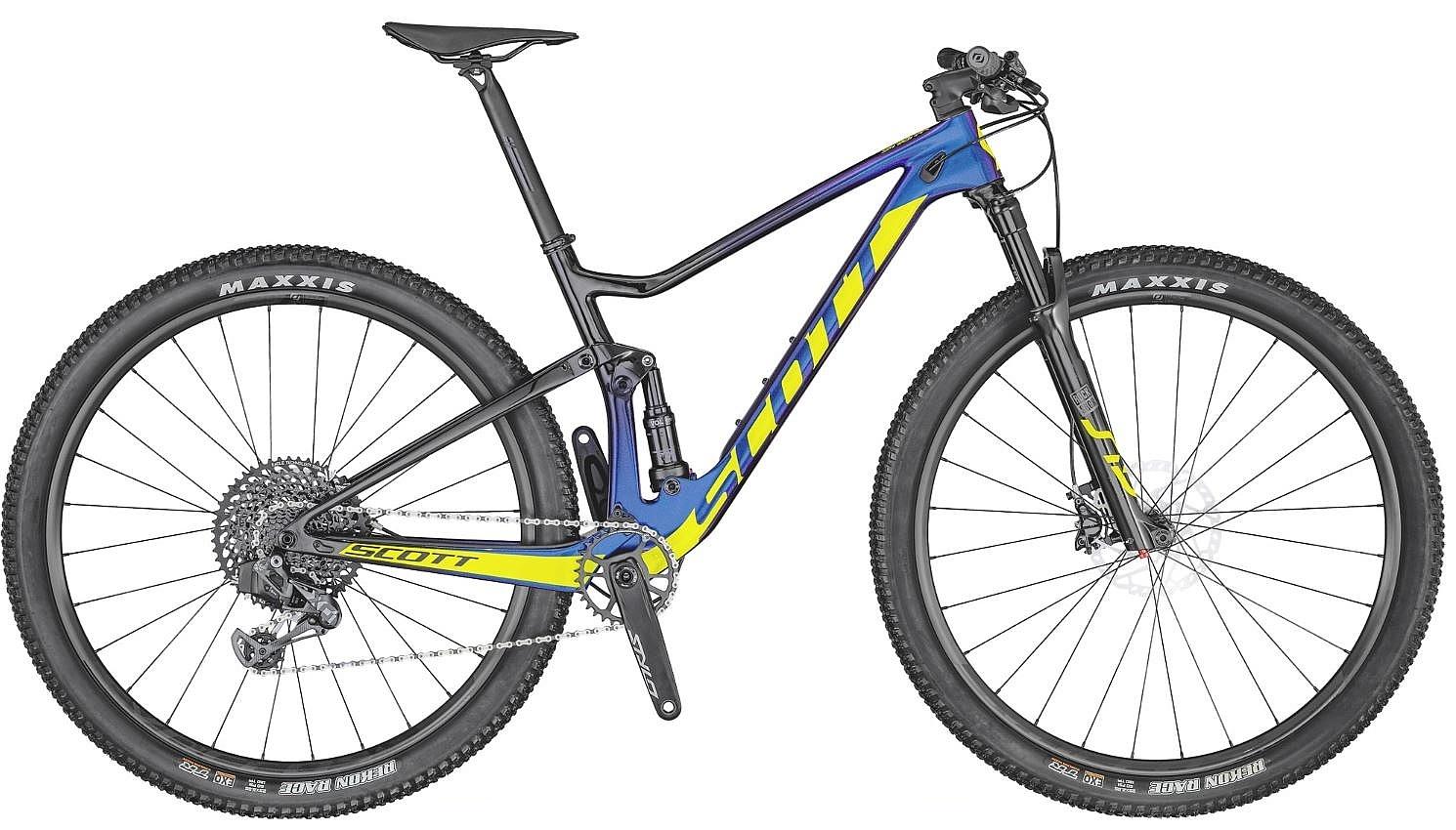 kolo Scott Spark RC 900 Team Issue AXS - Blue L