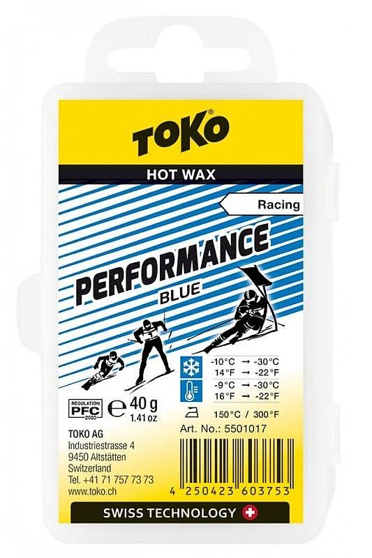 vosk Toko Performance - Blue LF 40 g