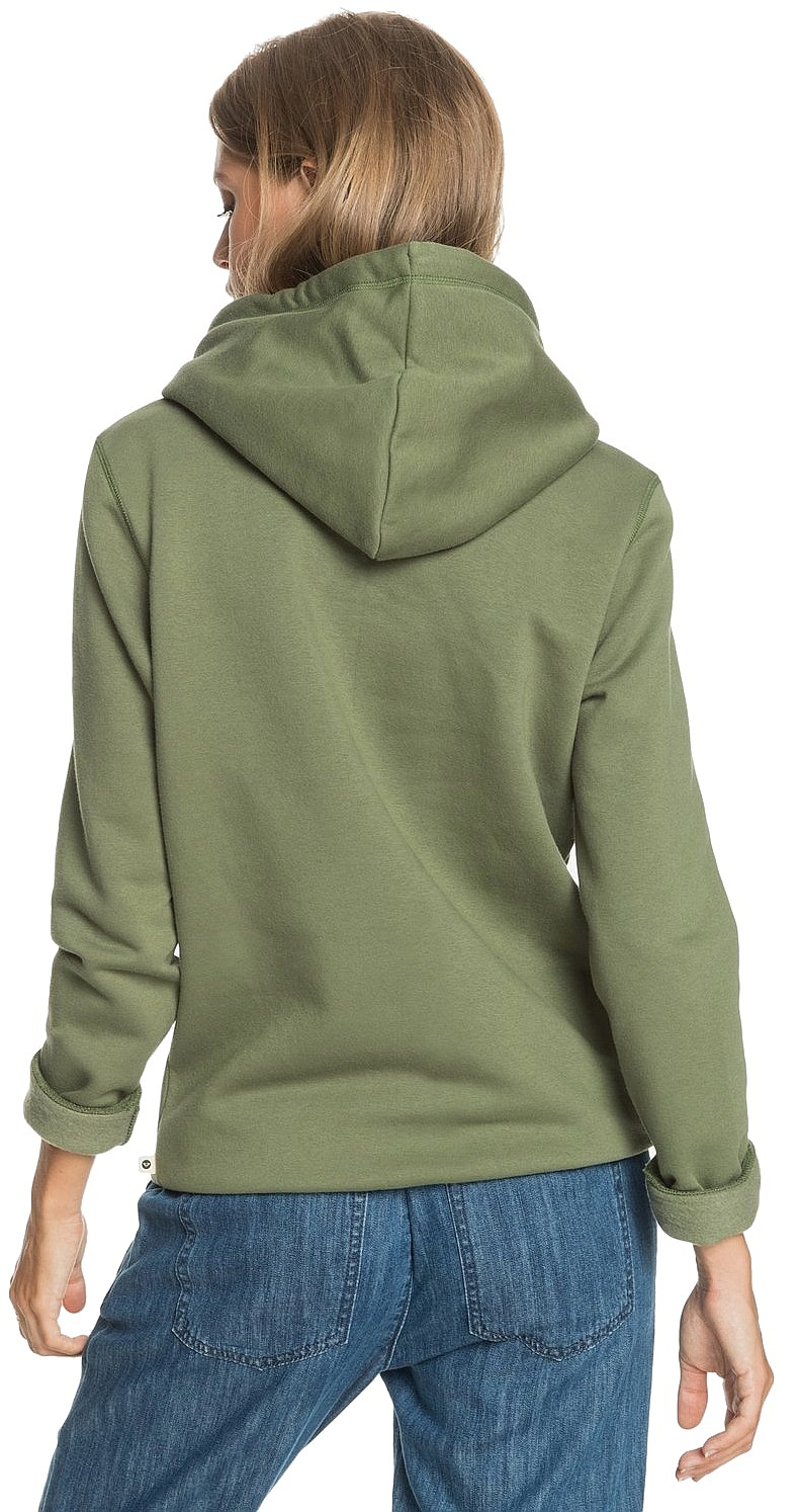 sweatshirt Roxy Day Breaks Brushed A - GNT0/Vineyard Green - women´s