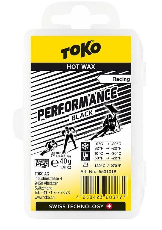vosk Toko Performance - Black LF 40 g