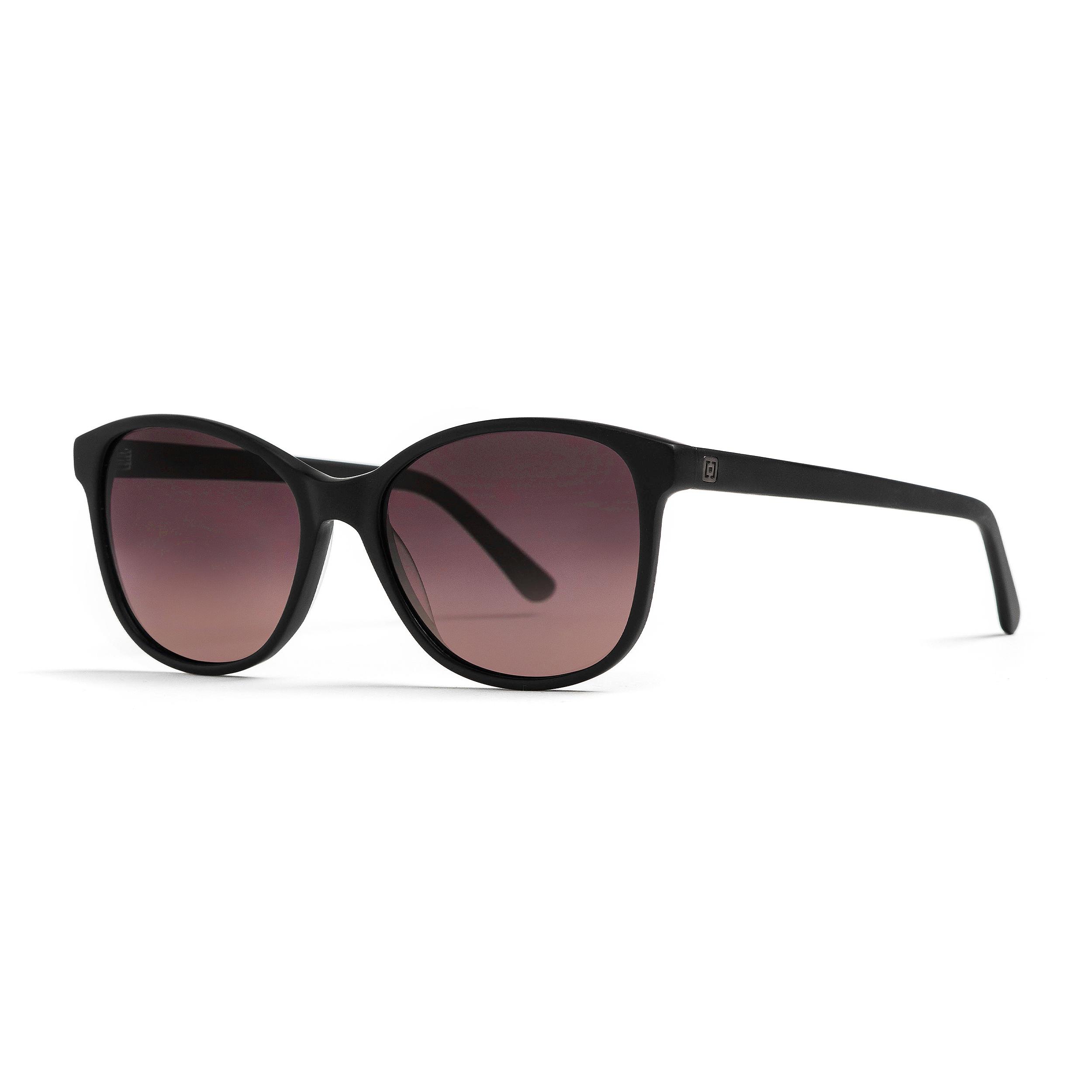 brýle Horsefeathers Chloe - Matt Black/Violet Fade Out