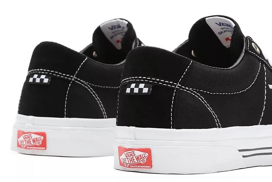 shoes Vans Skate Sid - Black/White - men´s