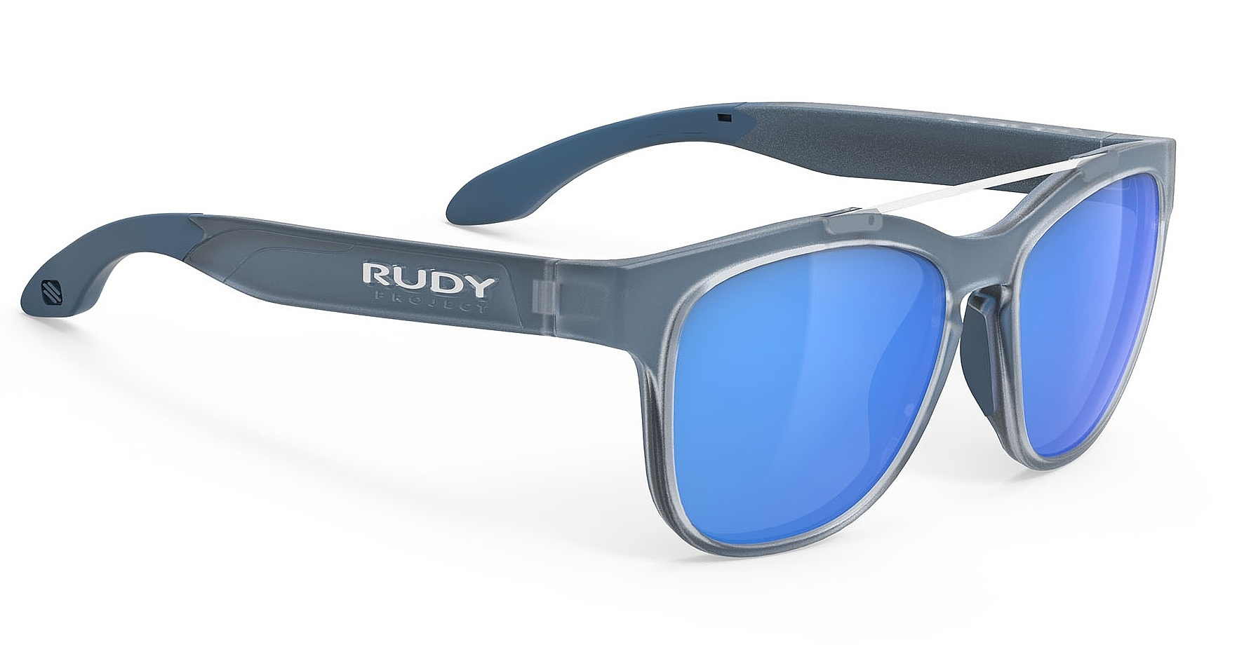 brýle Rudy Project Spinair 59 - Ice Blue Metallic Matte/Multilaser Blue one size