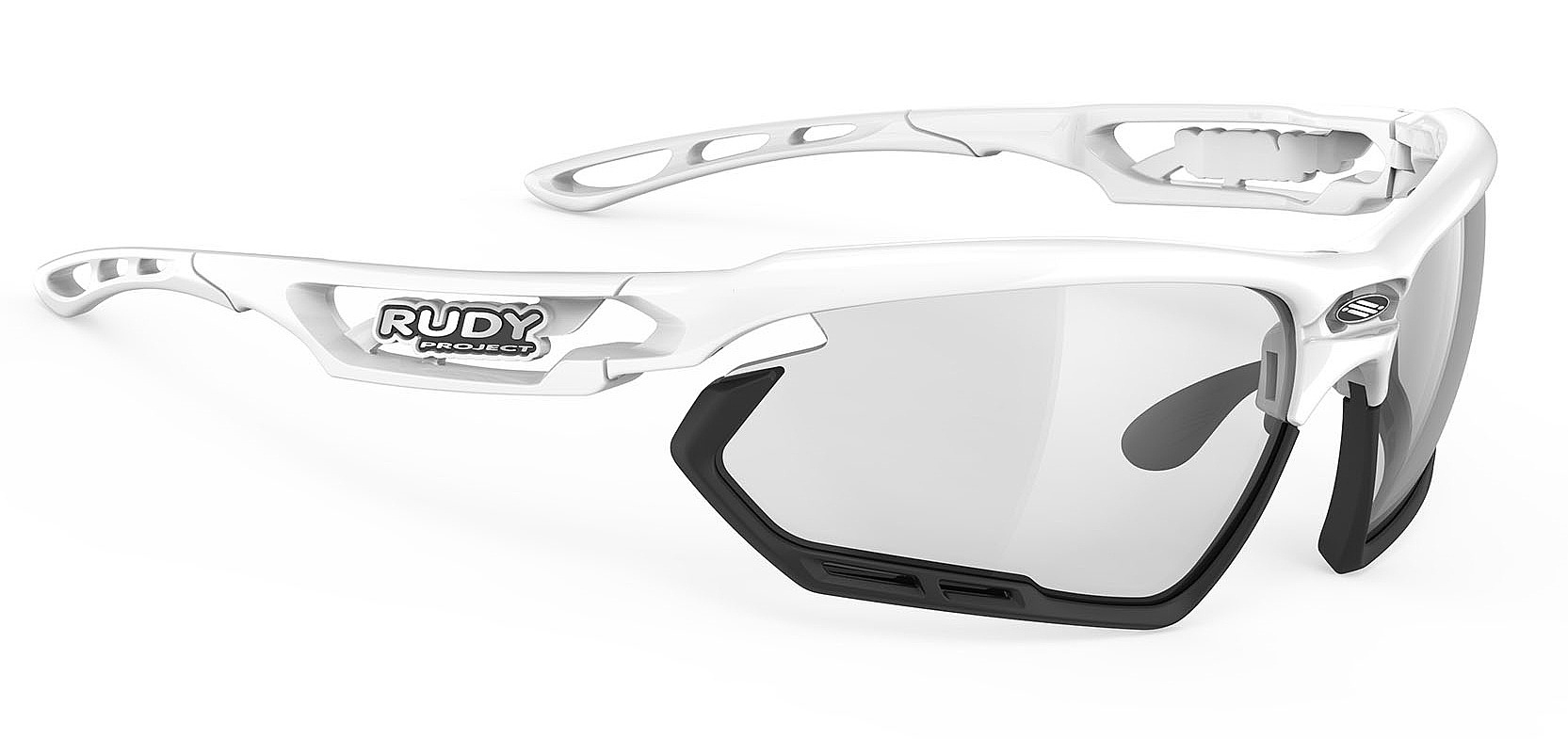 brýle Rudy Project Fotonyk - White Gloss/Black Bumbers/ImpactX 2 Black one size