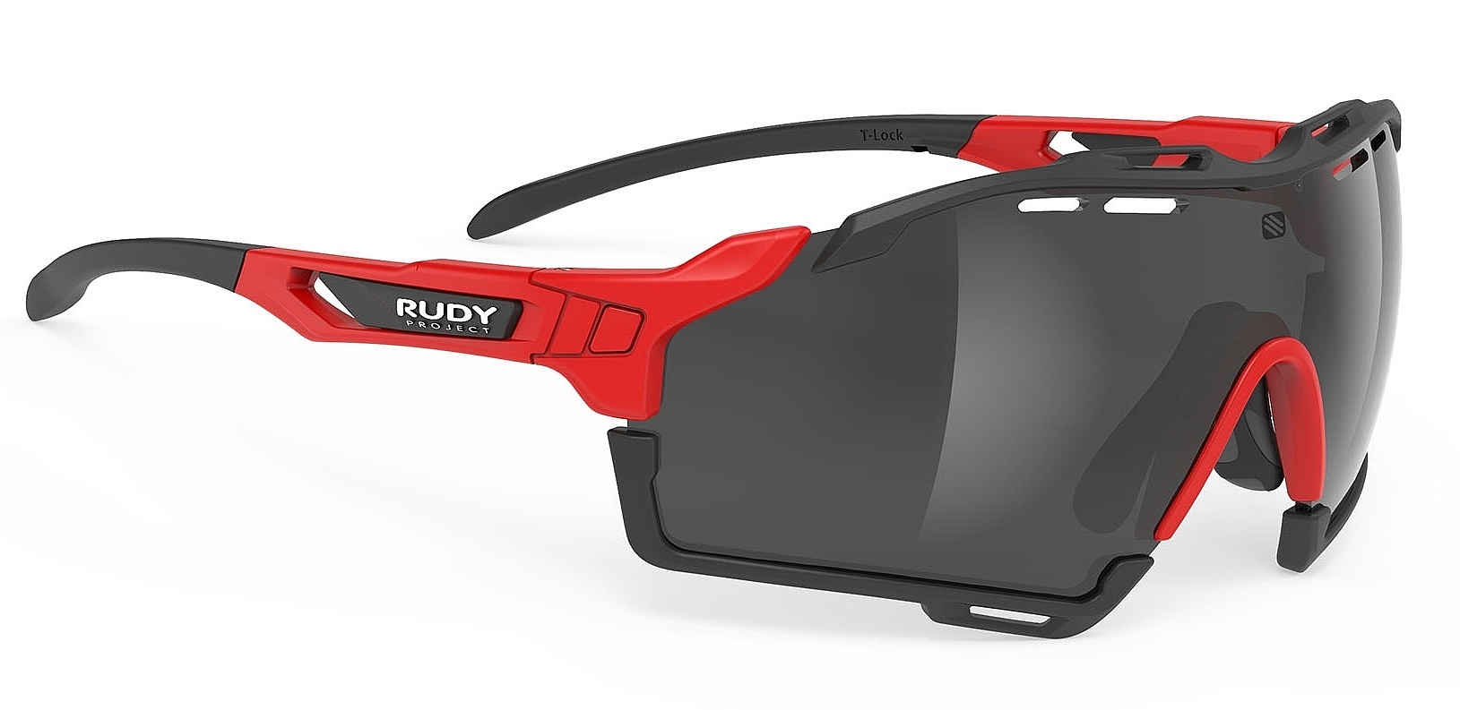 brýle Rudy Project Cutline - Fire Red Matte/Smoke one size