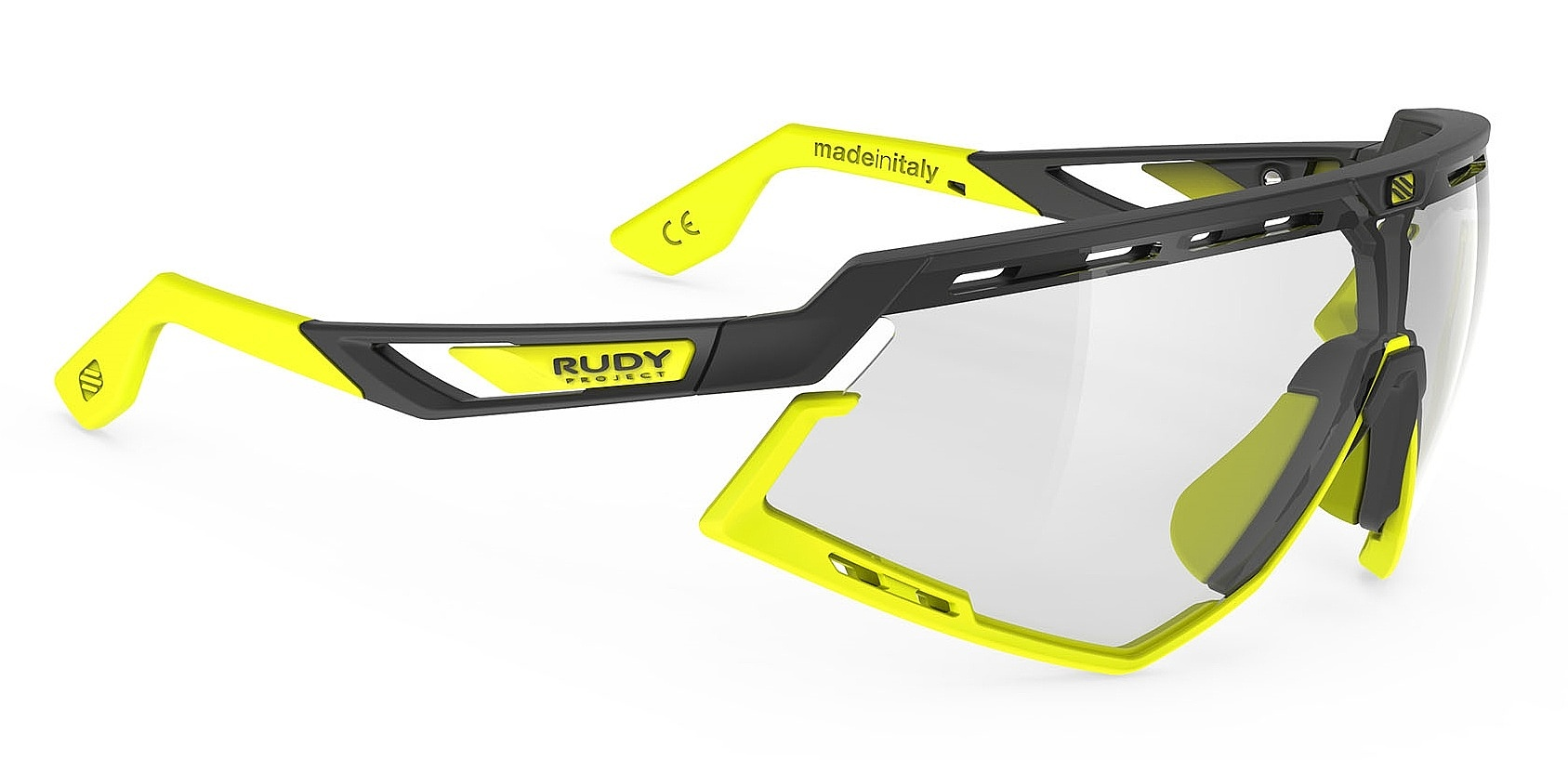 brýle Rudy Project Defender - Black Matte/Yellow Fluo/ImpactX Photochromic 2 LS one size