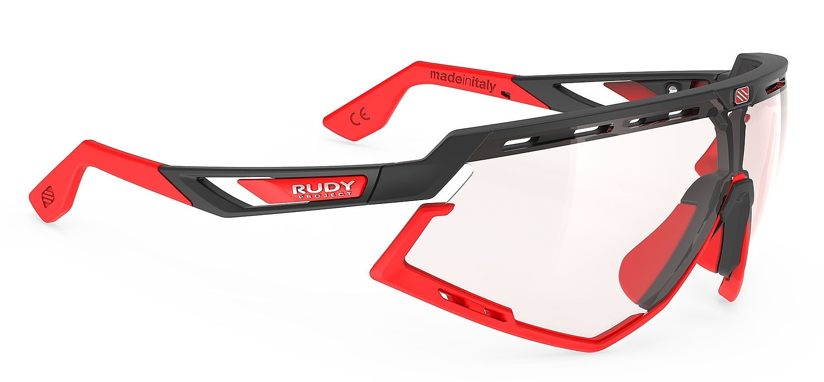 brýle Rudy Project Defender - Black Matte/Red Fluo/ImpactX Photochromic 2 Red one size