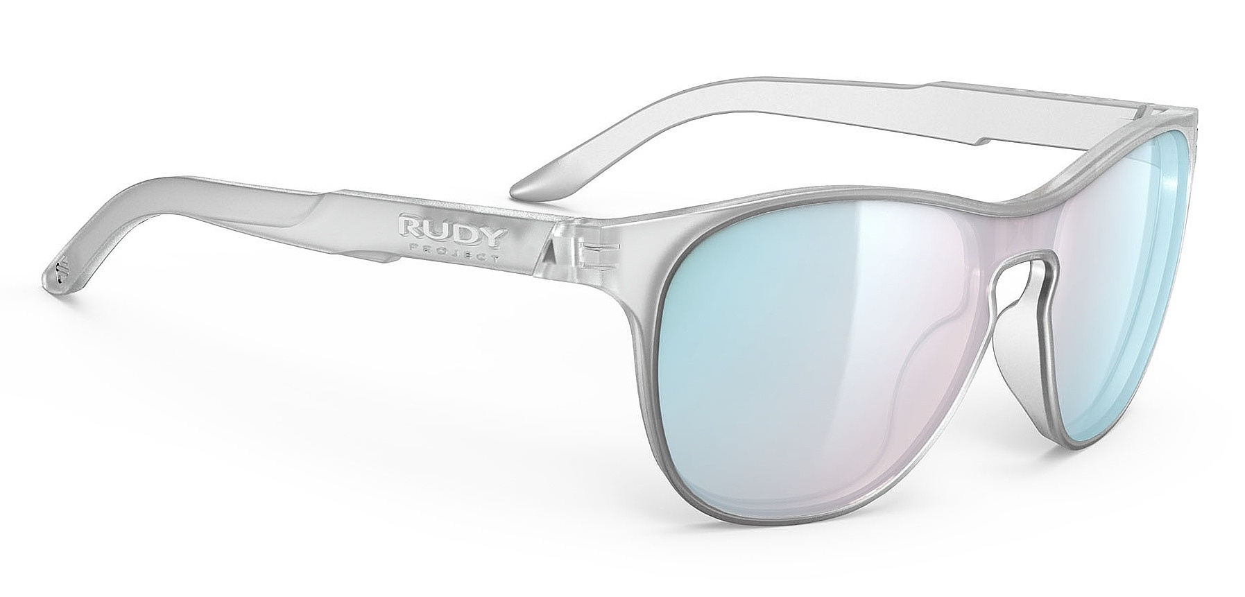 brýle Rudy Project Soundshield - Ice Silver Matte/Multilaser Osmium one size