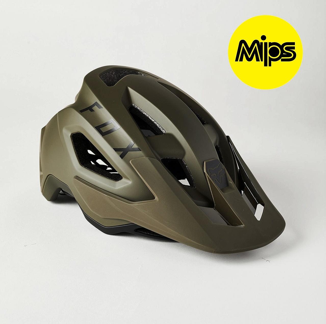 Fox Speedframe Mips Olive Green S 21