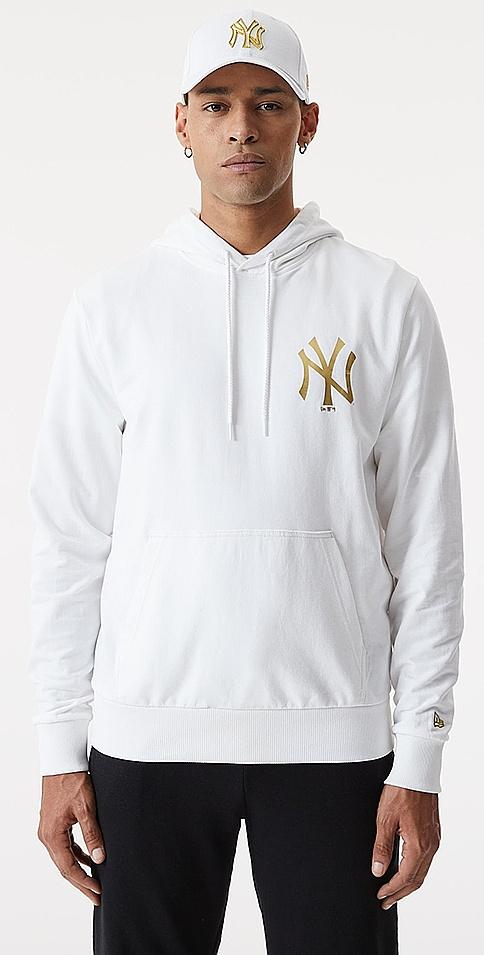 mikina New Era Metalic MLB New York Yankees - White L
