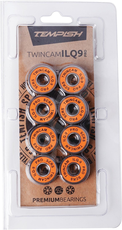 ložiska Tempish Ilq9 Twincam Pro - Chrome Steel one size