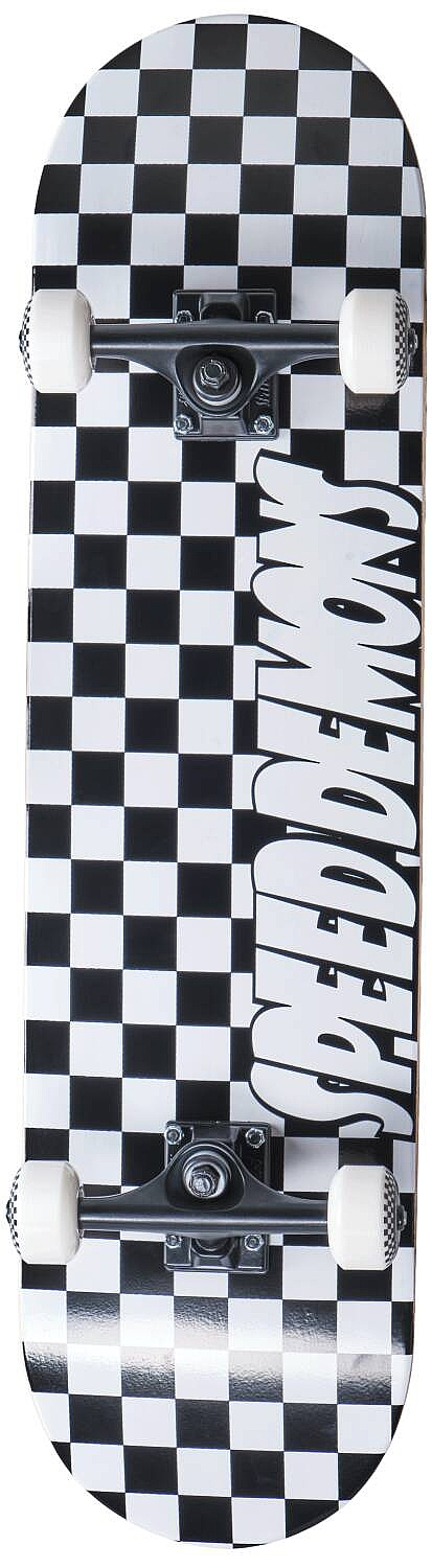 skateboard Speed Demons Checkers Complete - Checkers