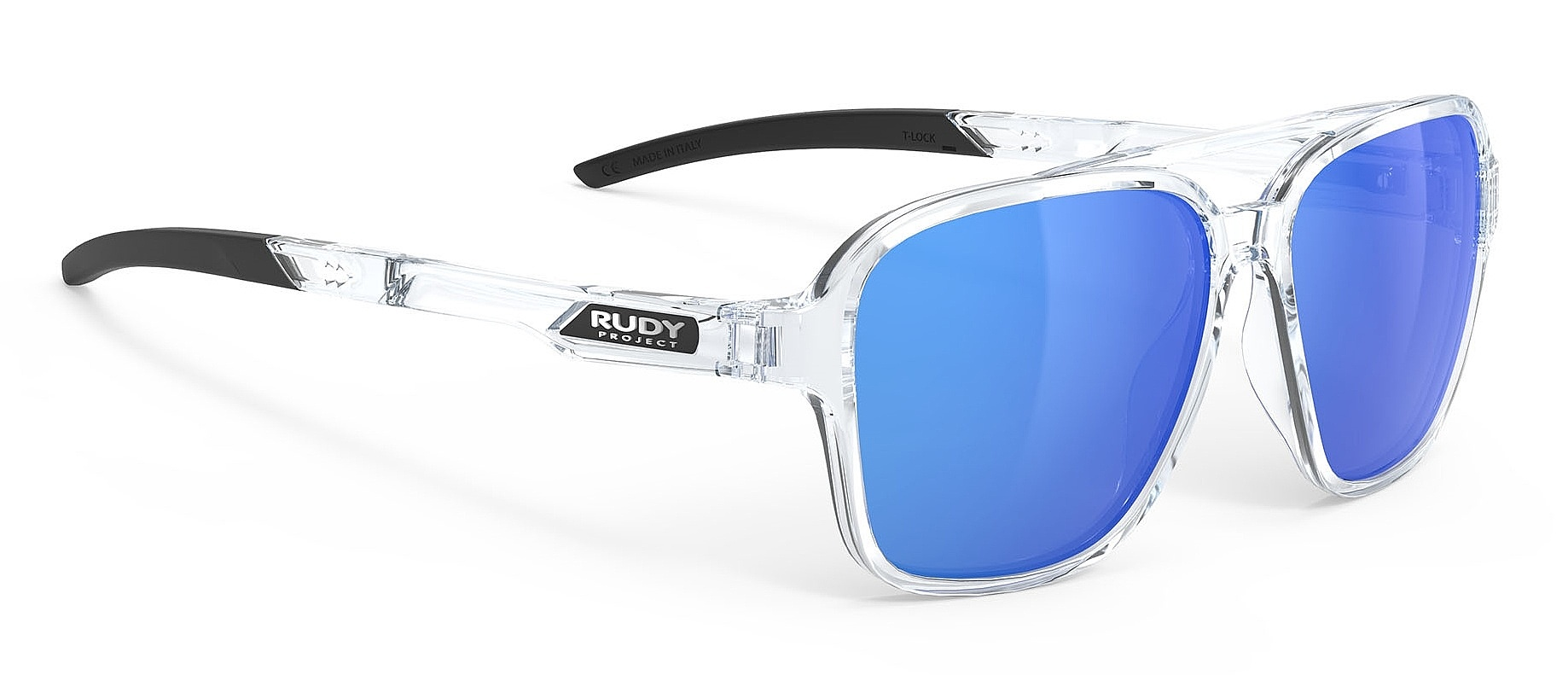 brýle Rudy Project Croze - Crystal Gloss/Multilaser Blue one size