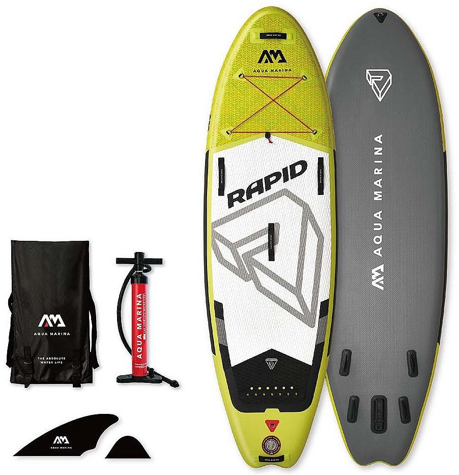 paddleboard Aqua Marina Rapid 9'6''x33''x6'' - Green 9'6''x33''x6''