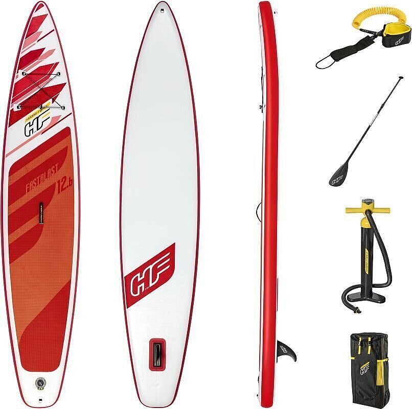 "paddleboard Hydro Force Fastblast 3Tech 12'6""x30""x6"" - 65343/Red/White 12'6""x30""x6"""