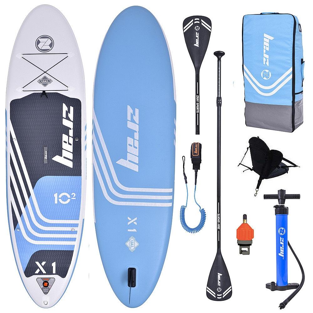 "paddleboard Zray X1 X-Rider Combo 10'2""x32""x6"" - Blue 10'2""x32""x6"""