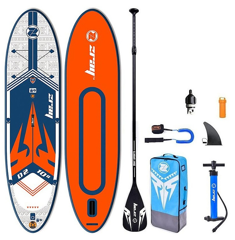 """paddleboard Zray D2 Dual 10'8""""x32""""x6"""" - Red 10'8""""x32""""x6"""""""