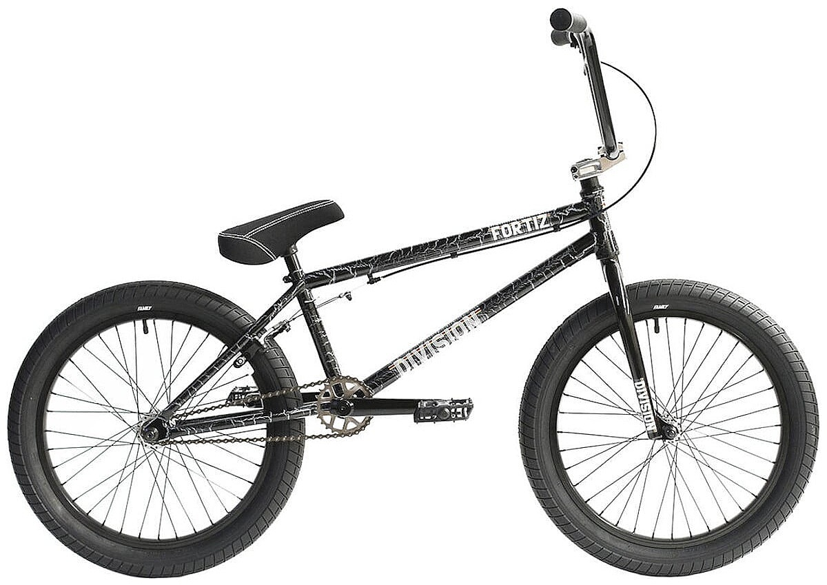 """kolo Division Fortiz 20"""" BMX - Cracle Silver 21"""""""