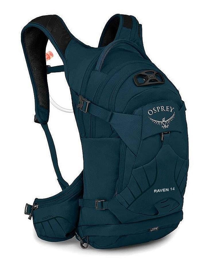 batoh Osprey Raven 14 - Blue Emerald 14 L