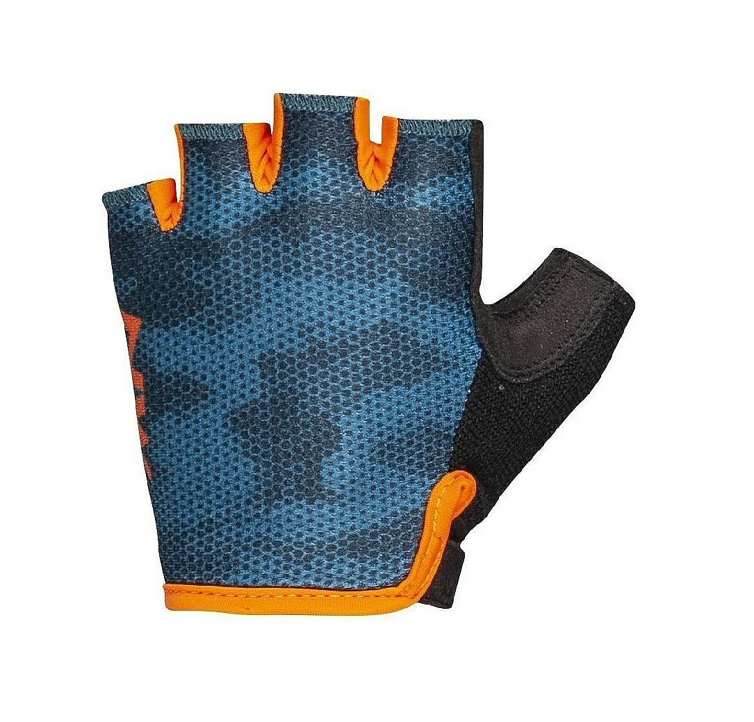 rukavice Northwave Active Short Finger - Blue/Orange 9-10 let