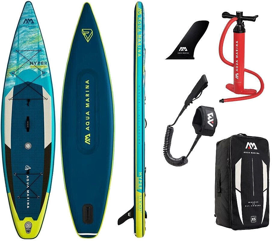 paddleboard Aqua Marina Hyper 11'6''x31''x6'' - Assorted 11'6''x31''x6''