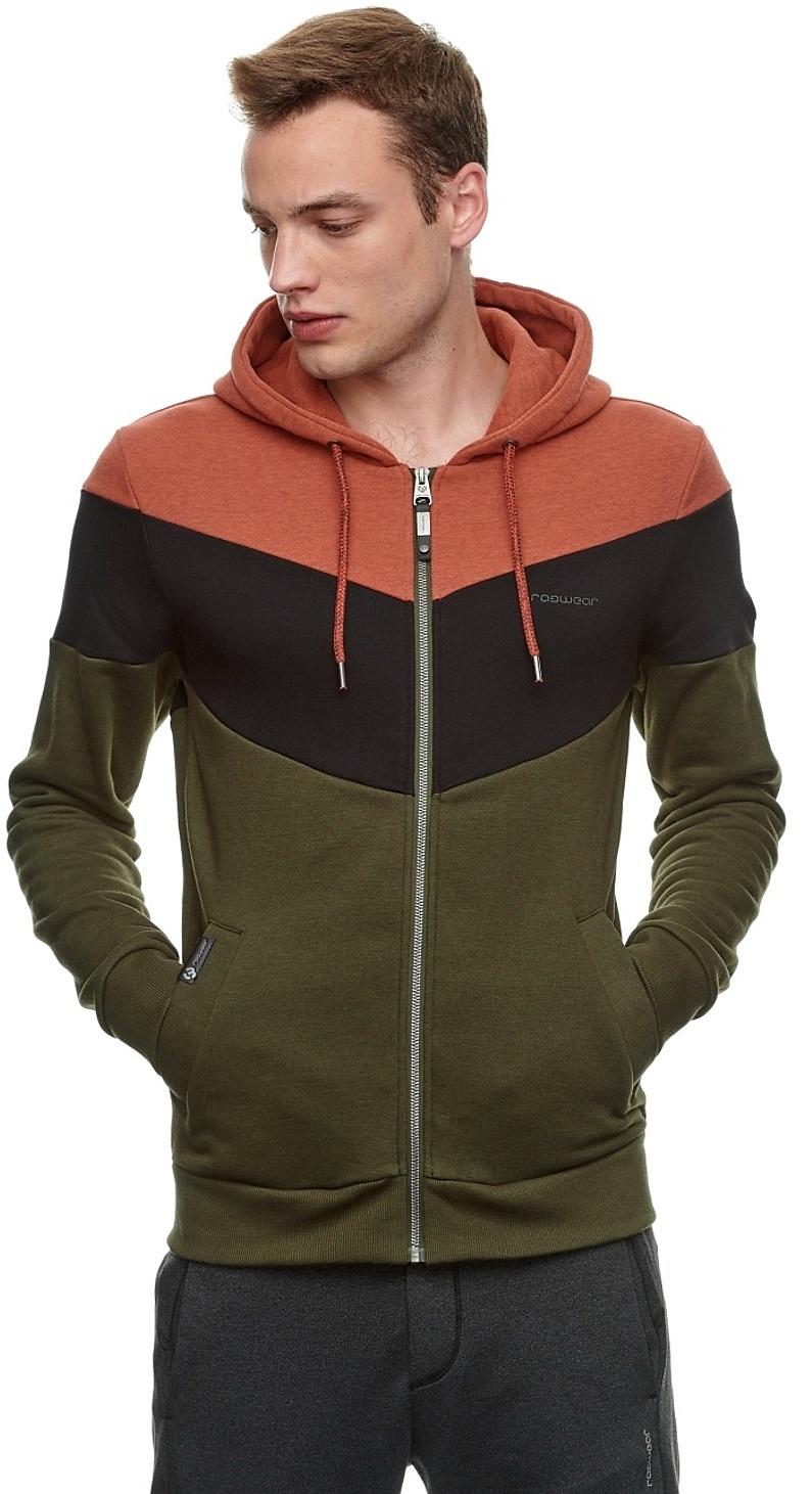 sweatshirt Ragwear Teabe Zip - 4045/Chili Red - men´s