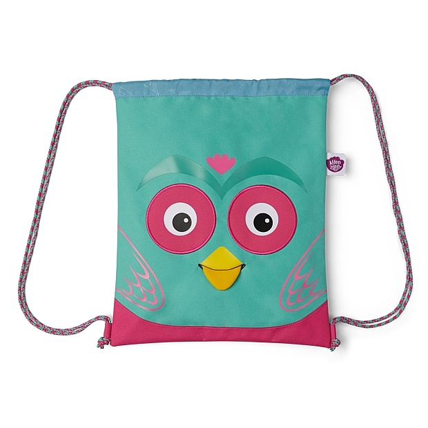 vak Affenzahn Owl - Turquoise one size