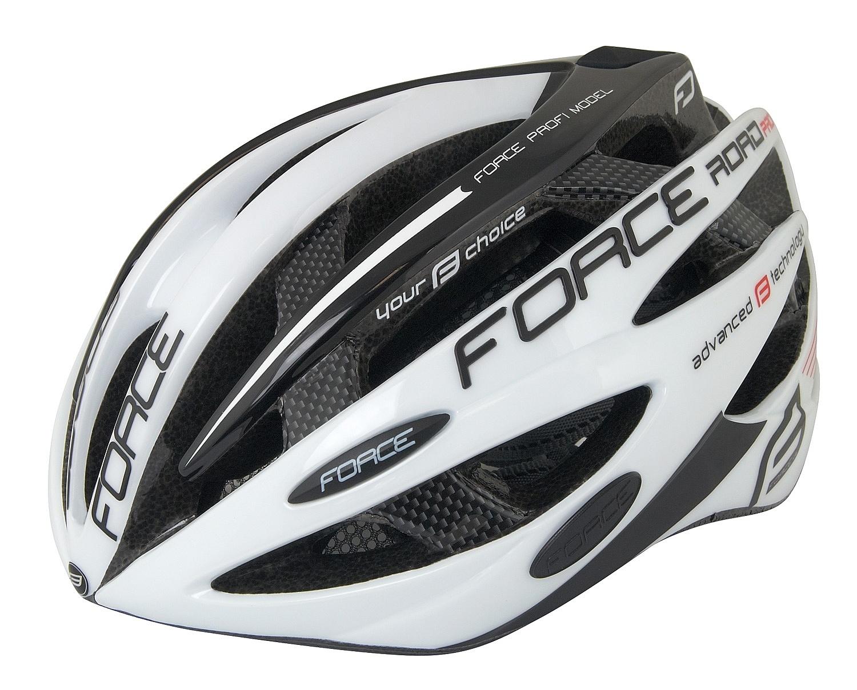 helma FORCE Road Pro - White/Black 48-54 cm