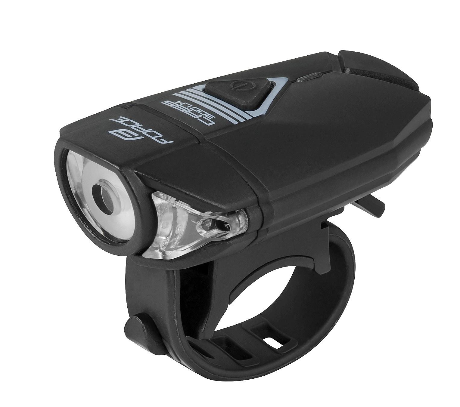 světlo FORCE Cass USB - Black one size