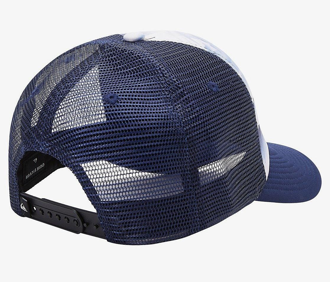 šiltovka Quiksilver Leash Pull Trucker - BPY6/Blue Indigo